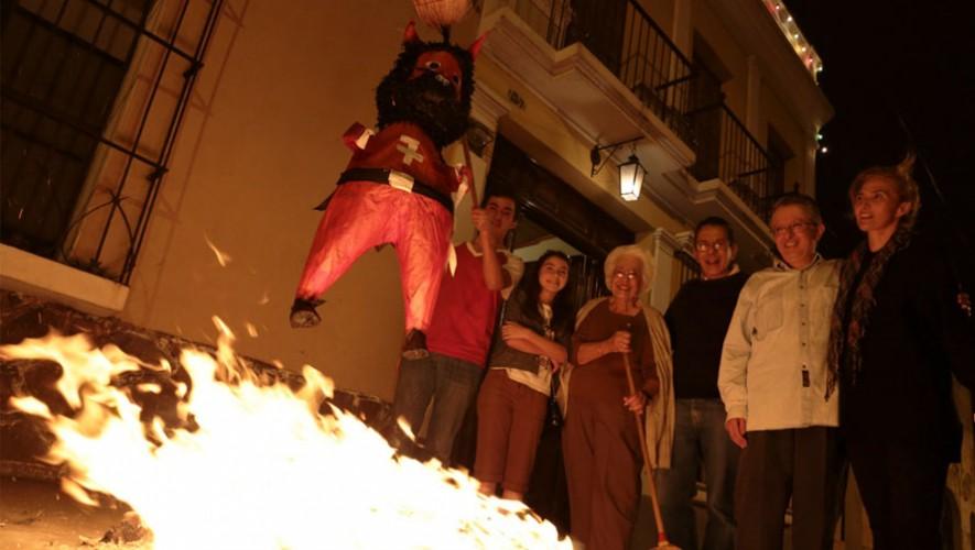 Quema del Diablo Guatemala Home Cleaning Ritual