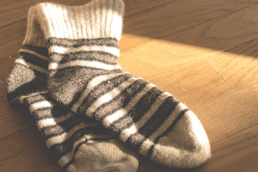 Home organizing best practice: pick up your socks
