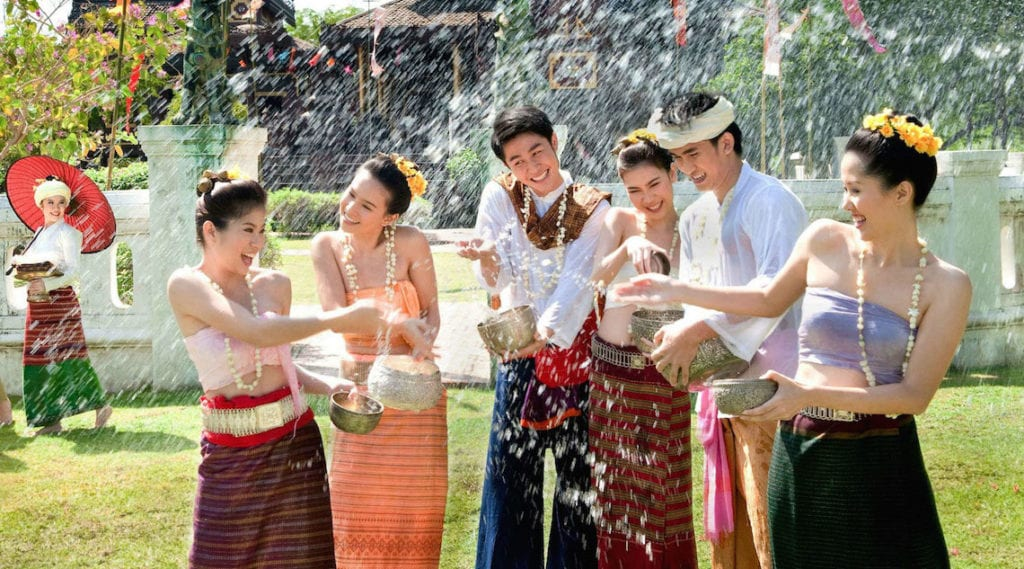 Songkran Thailand New Year Home Cleaning
