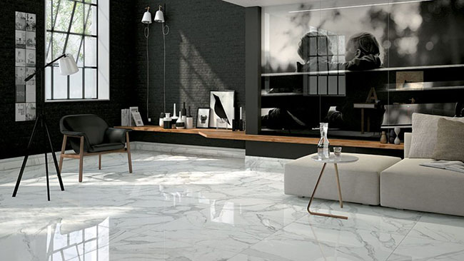 beautiful marble flooring
