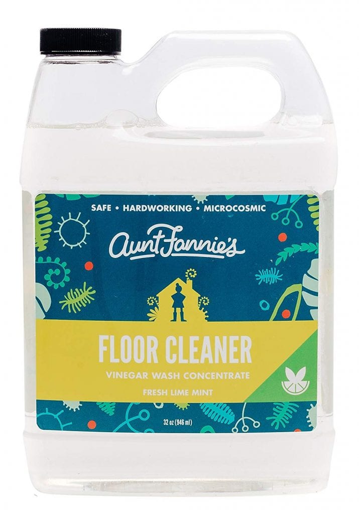 vinegar-based floor cleaner product