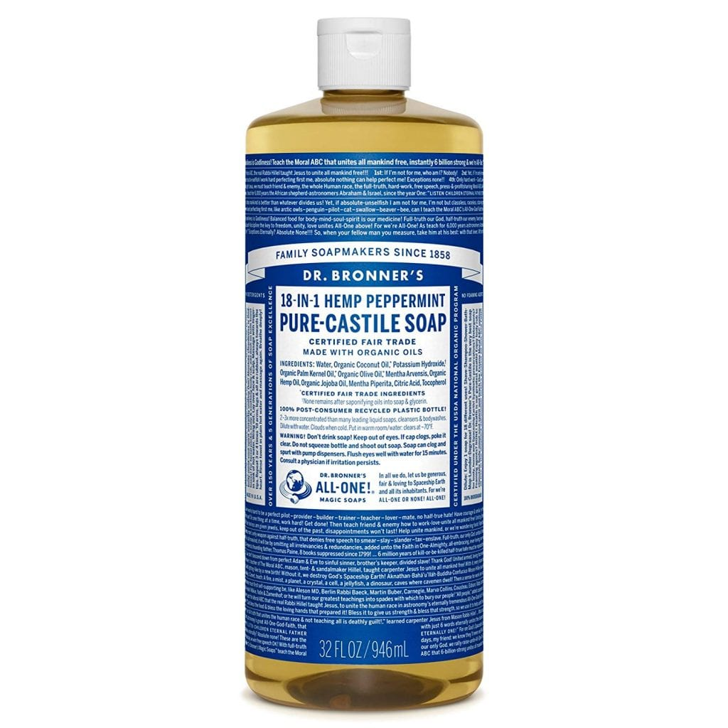 the best castile soap for cleaning