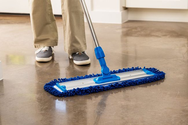 marble floor dust mop