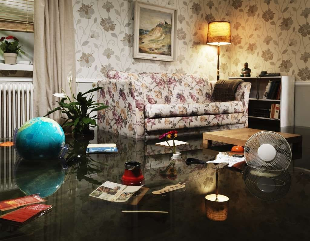cleaning tips for flood water on furniture