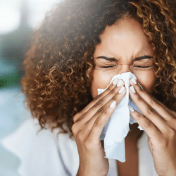 cleaning during flu season
