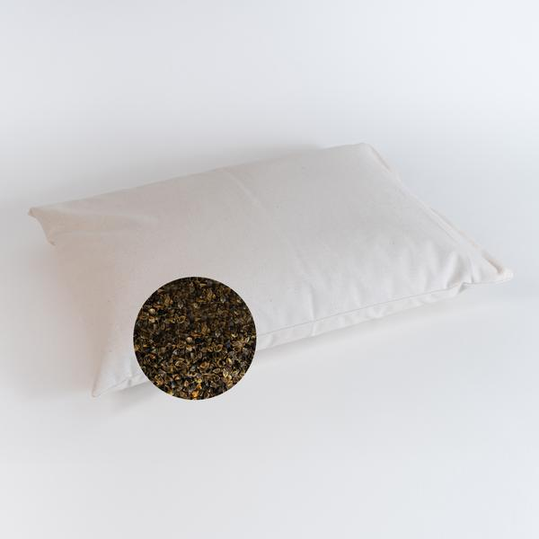 how to wash and clean buckwheat pillows