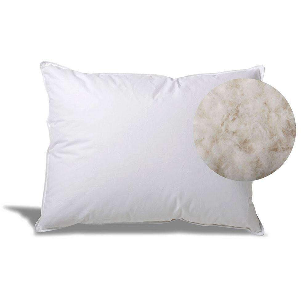 how to wash and clean down and feather pillows