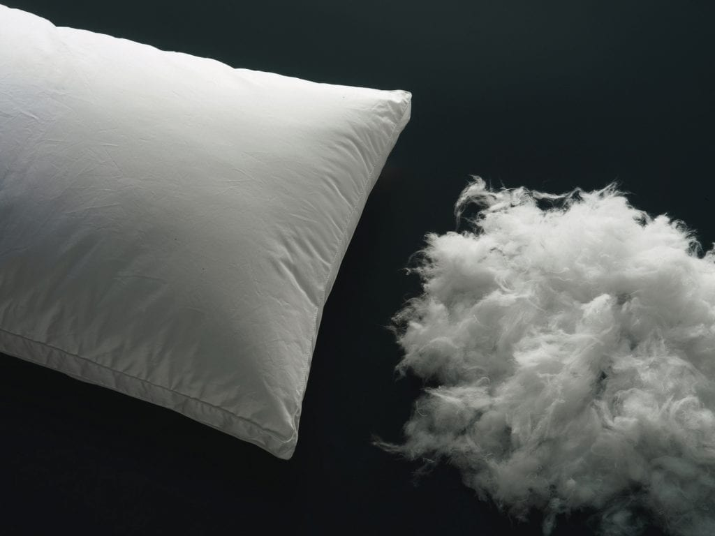how to wash and clean polyester pillows