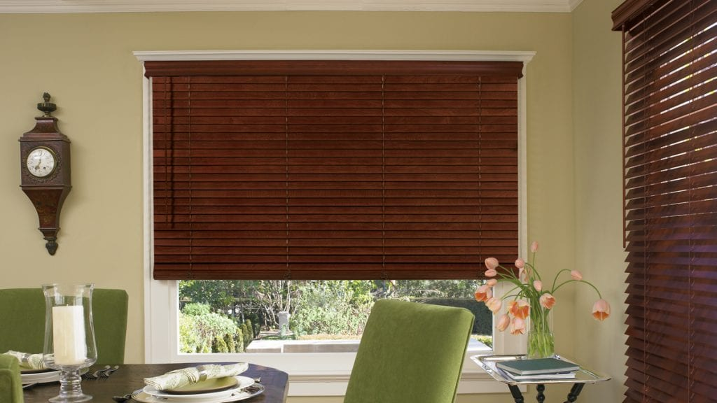 how to clean wooden blinds