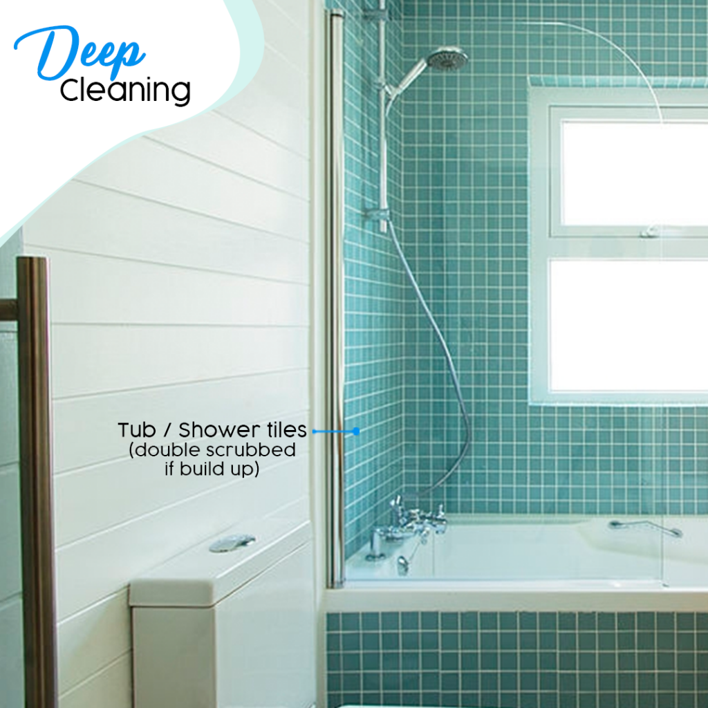 bathroom deep cleaning checklist