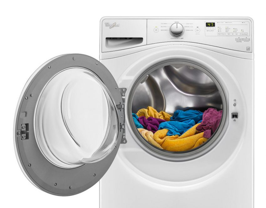 cleaning tips on how to clean a front load washing machine