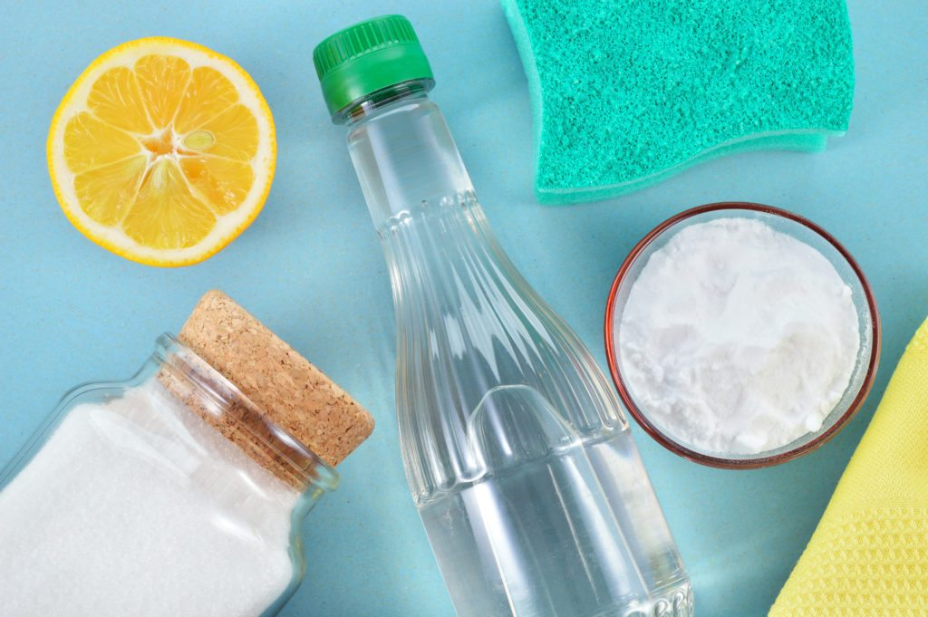 how to clean washing machine with vinegar and baking soda and lemon juice
