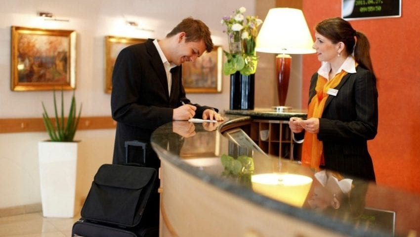 disinfecting and sanitizing high touch areas such as reception front desk