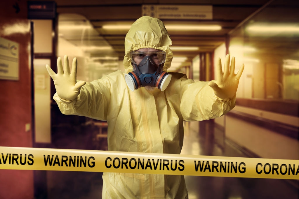 coronavirus covid-19 disinfection service
