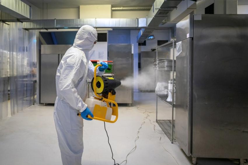 disinfectant fogging