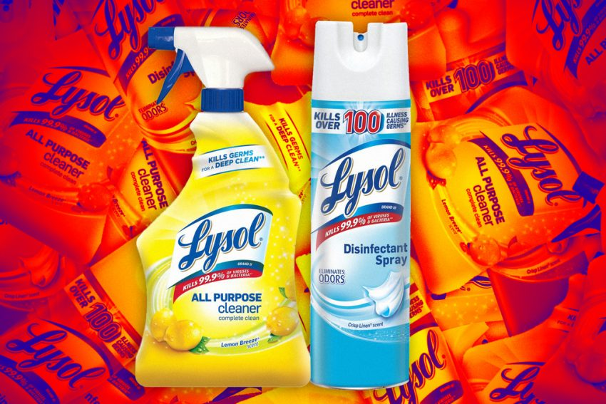 lysol products effective against covid-19