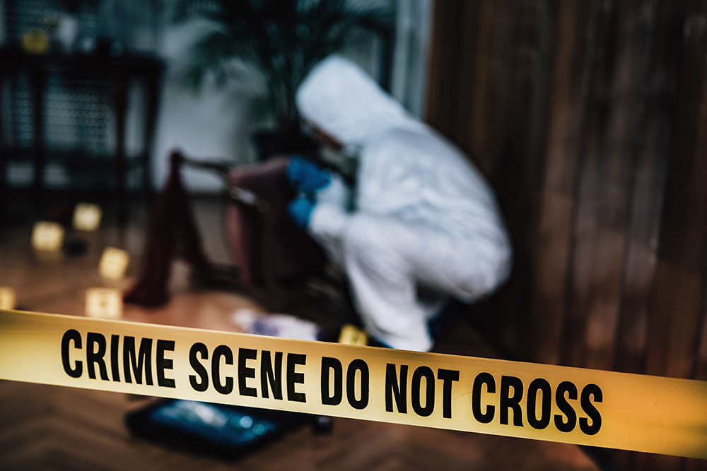 crime scene, trauma, death cleanup
