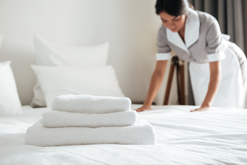 cleaning for hospitality