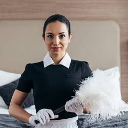 housekeeping duties