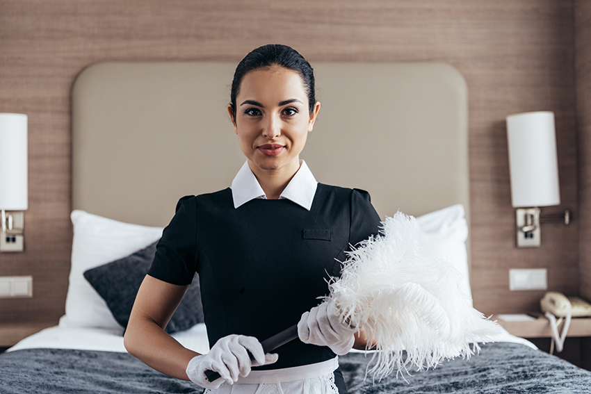 housekeeping duties