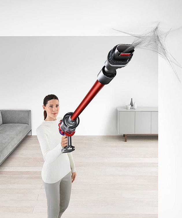 vacuuming a popcorn ceiling