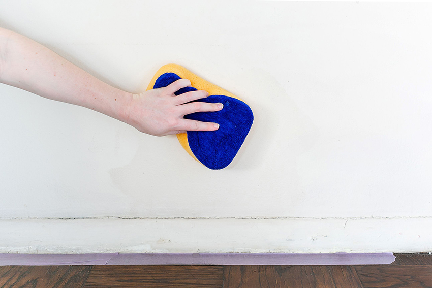 how to clean walls without streaks