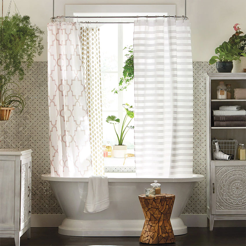 how to wash plastic shower curtains