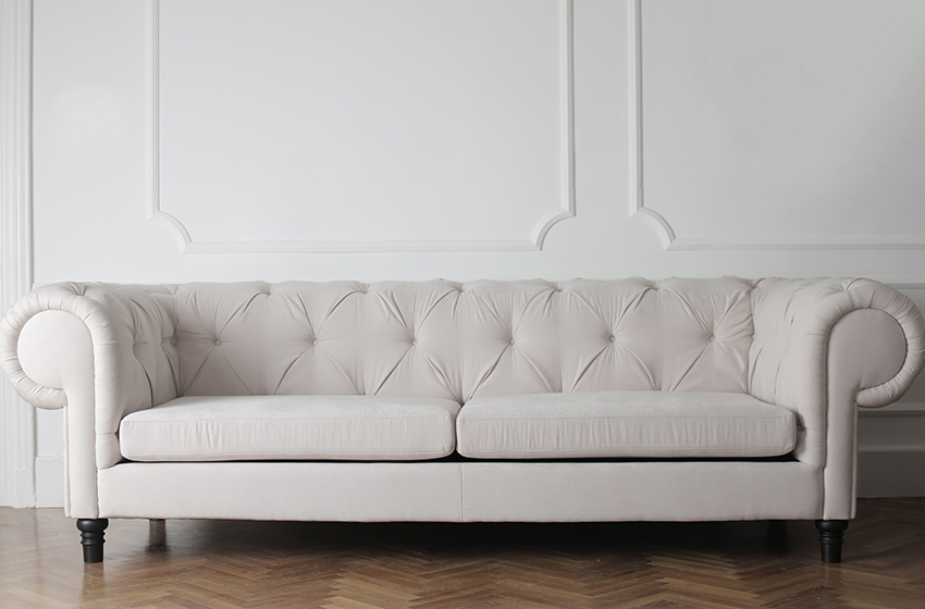 how to clean fabric couches