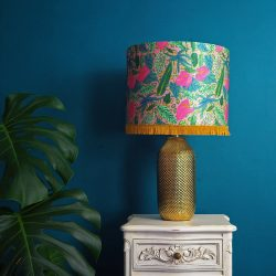 how to clean silk lampshades