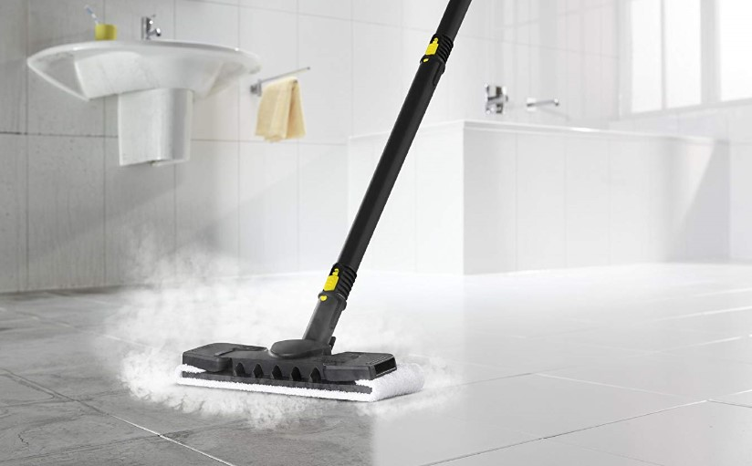 steam cleaning ceramic tiles