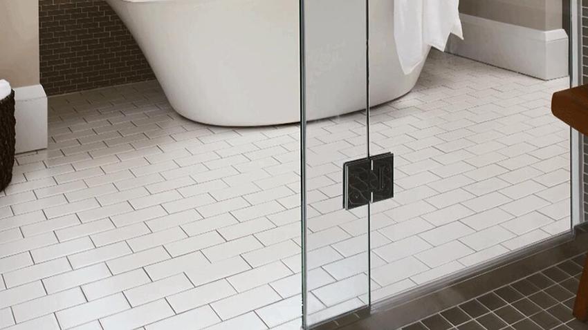 ceramic tile floors shower