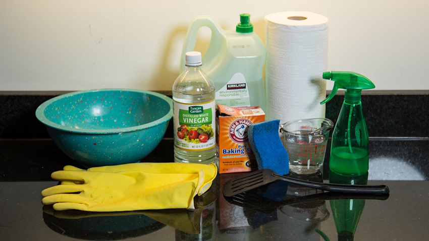 oven cleaning supplies